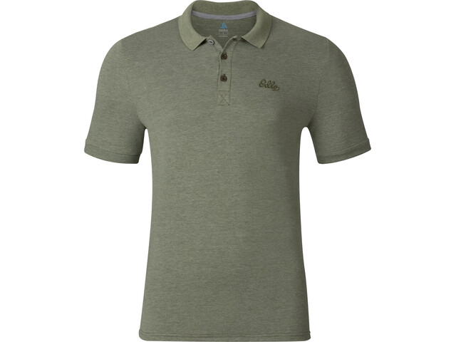 Odlo Trim Polo Shirt S/S Men four leaf clover melange